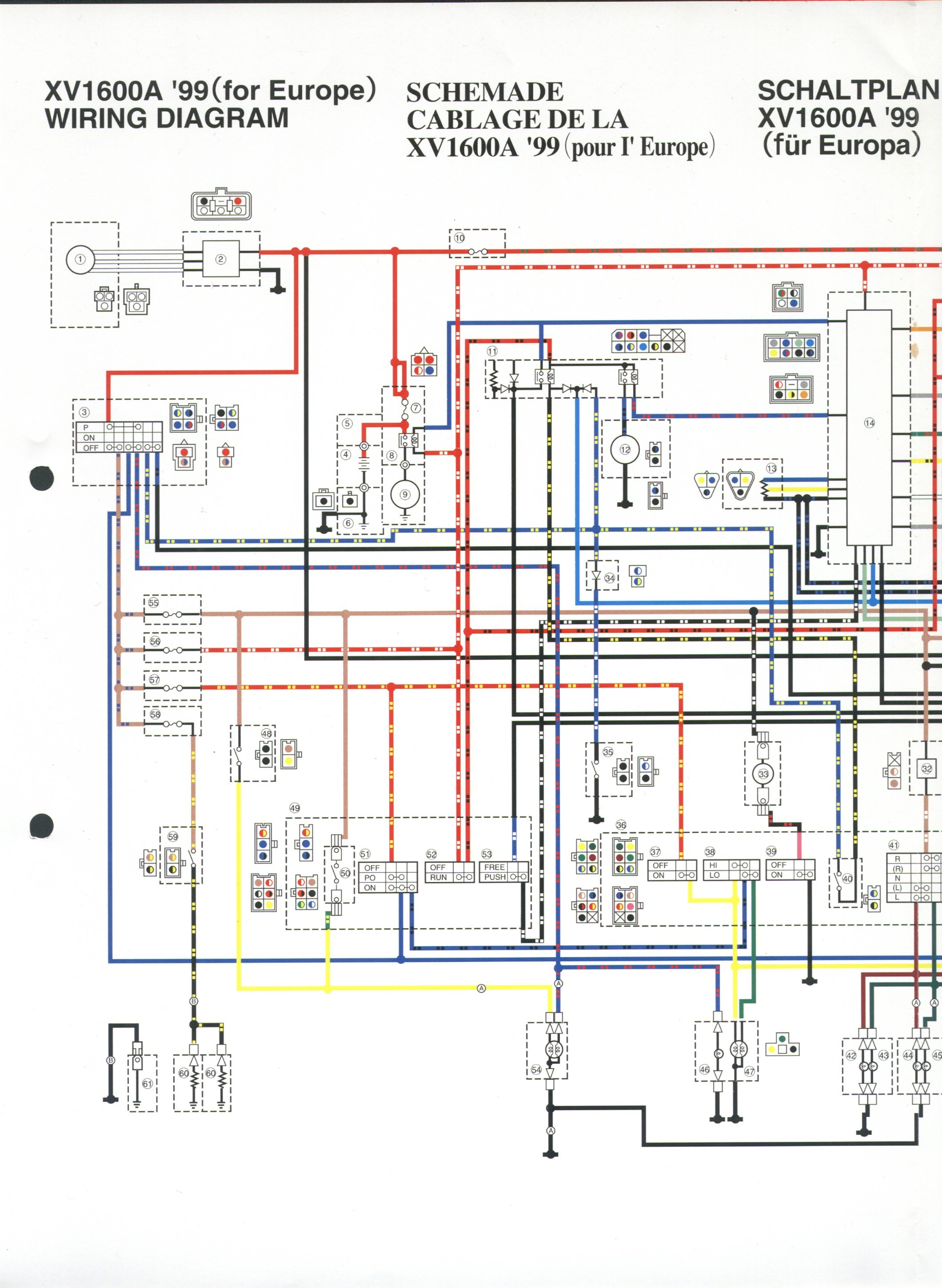yamaha road star 1600 wiring schematic trusted wiring diagram u2022 rh justwiringdiagram today