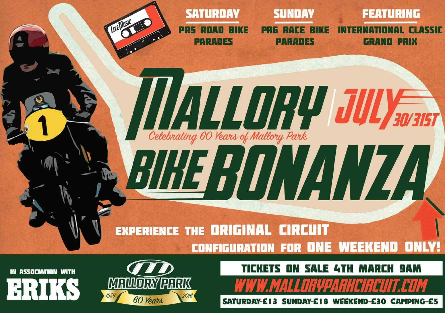 Mallory Park Bike Bonanza 2016