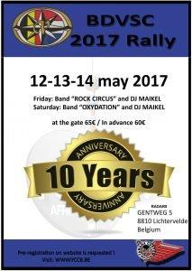 YCCB Belgium Rally 2017