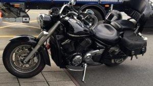 James Robertson motorcycle