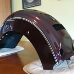 XV1600 Rear Mudguard/Fender (2004 - 2009) - Brand New, slightly Shop Soiled and Rubberized inside