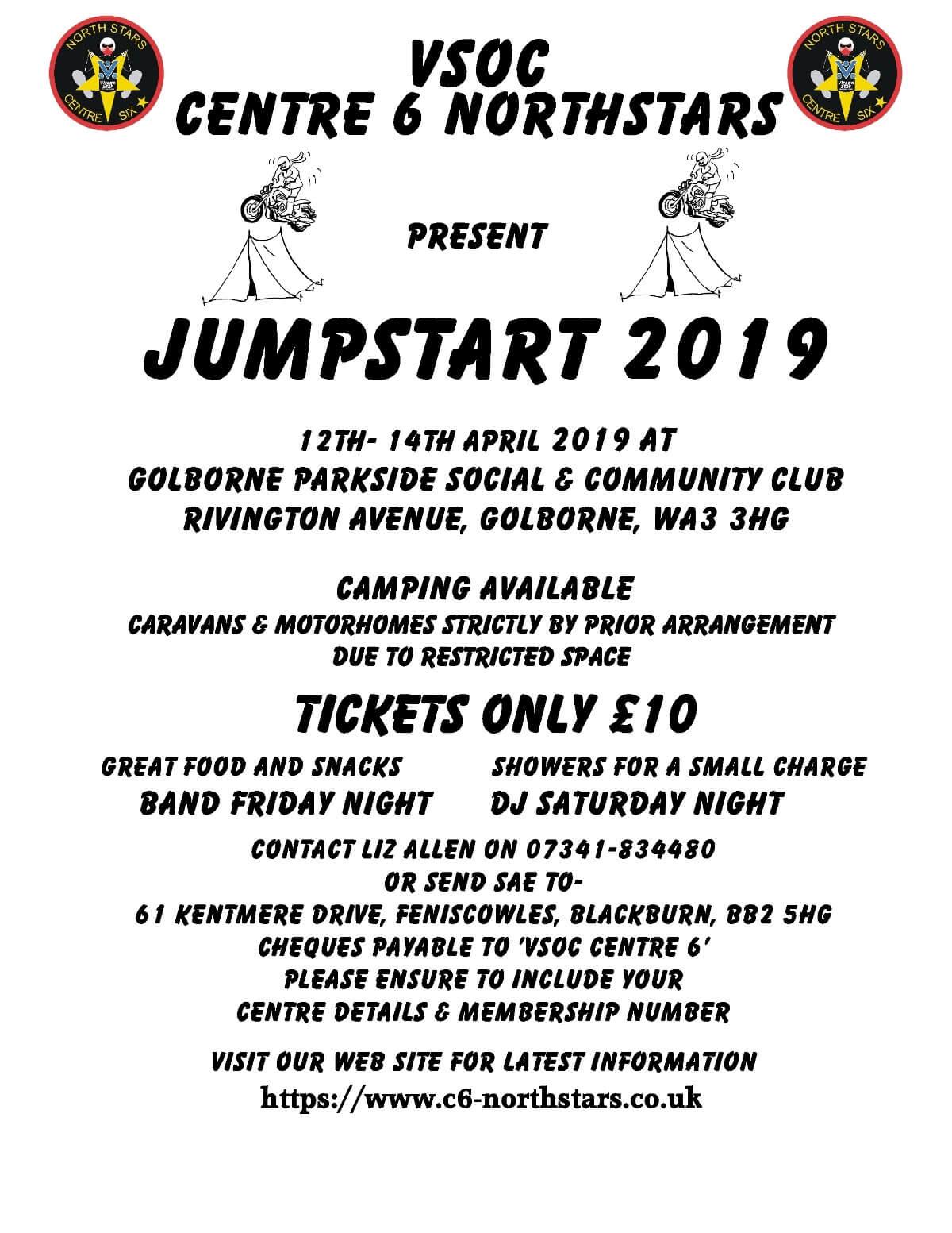 Jumpstart 2019 Flyer