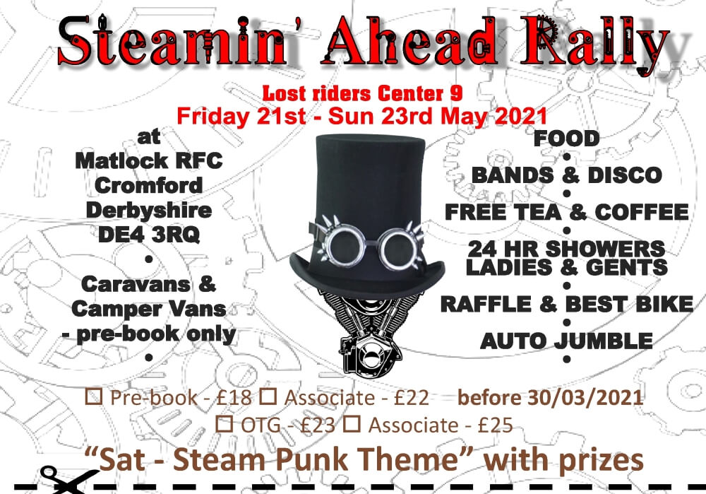 Steamin' Ahead Rally 2021