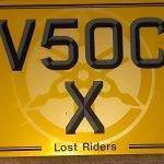 V5OC X registration for sale.