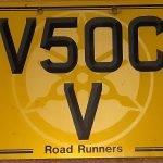 V5OC V registration for sale.